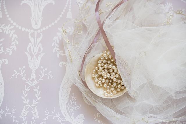bridal, bride, beads