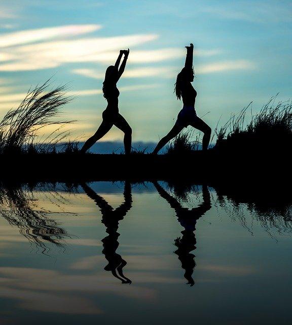 yoga, adult, asia